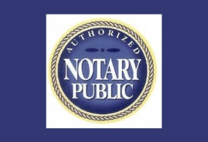authorized notary